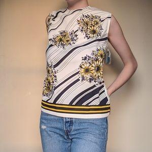 Vintage deadstock floral top
